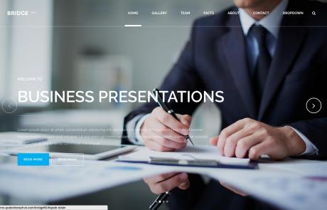 Website voorbeelden Business