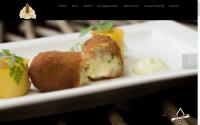 voorbeeld website restaurant op de poort