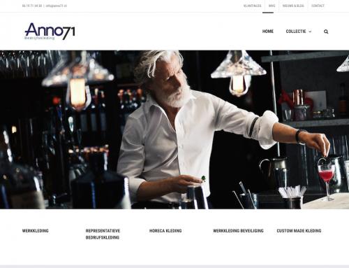 voorbeeld website werkkleding