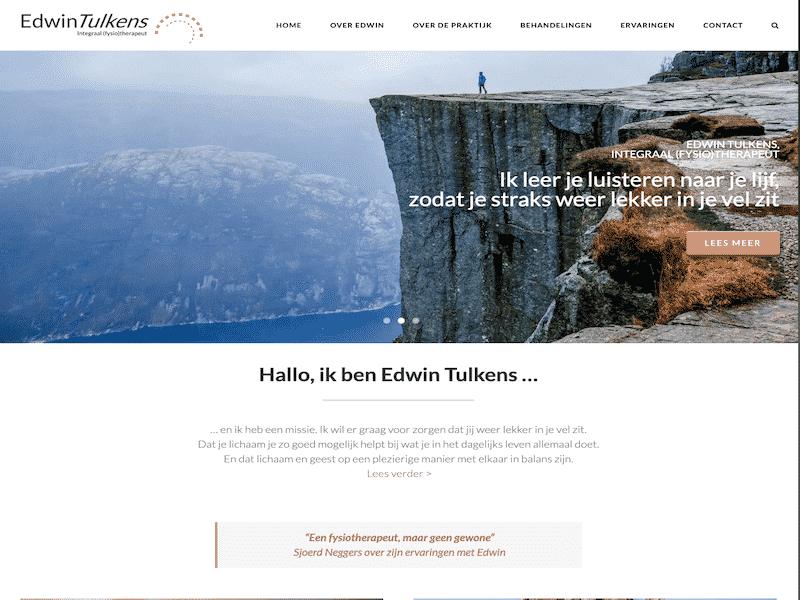 Edwin Tulkens website voorbeelden