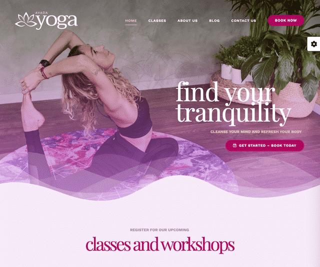 website-voorbeelden-yoga